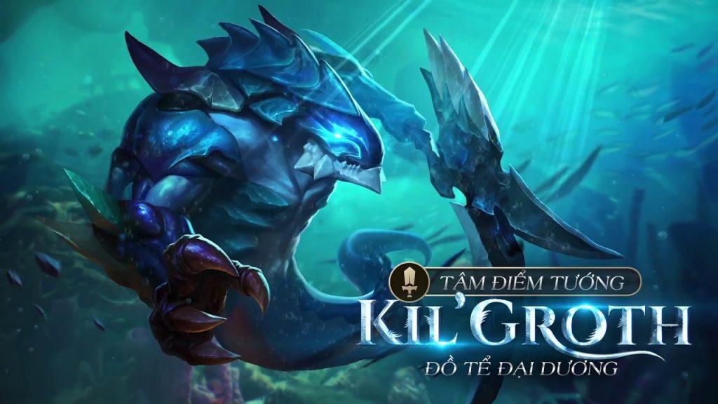 Kil'Groth Liên quân – Cách chơi, bảng ngọc, lên đồ Kil'Groth mùa 16